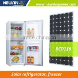2015 high quality mini bar refrigerator island freezer solar refrigerator freezer