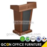 High stand Design wood Church podium Walnut GB423