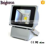 HOT sell waterproof die cast aluminum housing 100w high power outdoor led flood light slim design