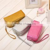 2015 best selling glitter cosmetic bag