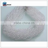 High quality round hanging crystal beads string for decorating                                                                                                         Supplier's Choice