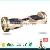 2 Wheel Smart Balance Electric Scooter Hoverboard Skateboard Motorized Adult Roller Hover Standing Drift Board golden colour