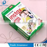 10sheet/pack Fujifilm polaroid instax mini film 3inch white film