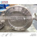 LAPAR dn200 pn16 High-performance Double Eccentric Wafer stainless steel Butterfly Valve