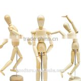 Wooden Joint Person Wooden Human Body Model Educational Toy