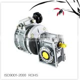 Combination of wj MB002-NMRV063 automatic machine agriculture gearbox,planetary helical bevel gearbox, speed reducers