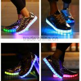 Adults led light t5 led red tube com led laces shoe clip light LED shoes sneakers women led shoes