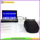 Black 4.3 inch Portable Video Magnifier Low Vision Reading Aids for Elderly                                                                         Quality Choice