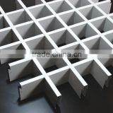 Factory Direct Sale White Aluminum Open Grid Ceiling, T Bar Matching Aluminum Suspended Ceiling Grid for Shopping Halls
