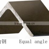 Hot rolled carbon steel bar material galvanized iron 45 degree steel angle bar size
