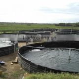 the most simple fish farms with plastic tanks