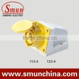 32A 3p 110v industrial wall socket