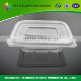 Blister process type disposable custom printed snack plastic packaging