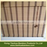 bamboo slat roll up blind