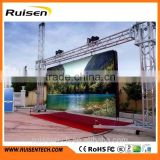 LED screen software scrolling message board p4 outdoor p5 64x32 waterproof showled variable message signs commercial led display