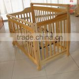 Solid Wood Baby Crib,Baby Furniture