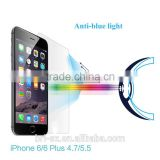2015 Hot Sale Amazon mobile phones anti blue light tempered glass screen protector for Iphone 6
