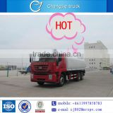 China IVECO 40000 Litres fuel tanker truck 8*4 petroleum loading capacity for sale