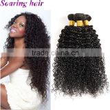 China Hot Selling hair manufacturer style virgin kinky curly sew in hair extensions