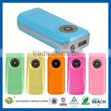 C&T 5600 mAh Pocket Remote Power Bank Portable Battery Pack and Charger for Cell Phones