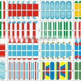2014 Brazil World Cup Products nail stickers nail warps for nail art from 2014 yiwu china