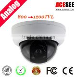 ACESEE monthly deal cost effective plastic dome 1200tvl cctv camera