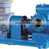 heavy oil pump Horizontal twin screw pump used for marine cargo oil, heavy oil, chemicals, food and other viscous liquids