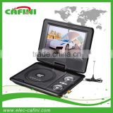 7 INCH portable dvd player with tv tuner