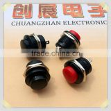 2014 illuminated push button switches,Blue PushButton SPST Momentary N/O Horn Switch