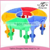 Colorful children sand and water play school plastic furniture