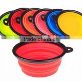 High quality silicone dog bowl/folding pet bowl