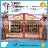 aluminum house gate designs / wrought iron gate models / forged iron main gate design for home villa and garden