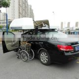 Wheelchair Topper and Auto Roof Box for car to stow wheelchair