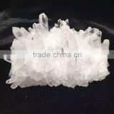 Hotsale small Clear rock Quartz Cluster for decoration,High Quality natural clear crystal crafts