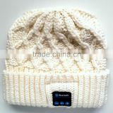wireless bluetooth headset beanie hat knit hat winter hat with bluetooth headphone beanie hat winter cap