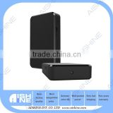 HD 1080P Black Box Hidden Spy Camera With 4000mA Battery Long 8 Hours Working times cam Recording