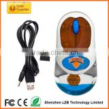 China Shenzhen factory directly selling cheap wireless aqua mouse low price liquid mouse custom floater inside