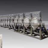 Multi-hydrocyclones key processing machine of starch production line suitable for starch milk rinsing