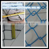 30m/roll hot dipped chain link fence / por inmersion en caliente cerca de alambre galvanizado