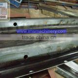 LMS Galvanized Steel Floor Decking Cold highway guardrail installation roll forming machine