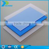 Quality assured heatproof 6mm polycarbonate greenhouse pc solid clear plastic wall panel sheet