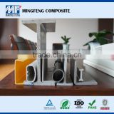 MF0032 Fiberglass pultrusion profiles, FRP frame frp grating/channel/tube, Pultruded Frp Square tube