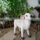 Small garden ornaments statues sheep statue for home decoration