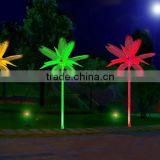 Outdoor waterproof landscape promotional cusotmized Christmas decoration led lighted palm tree