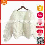 Hot selling custom fashion handmade baby sweater