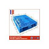 Industrial Double faced Four - way Heavy Duty Plastic Pallets 1200 x 1000mm