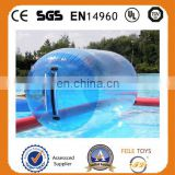 Inflatable water roller ball ,water games roll water ball for pool&lake,adult and kids roller ball,water ball
