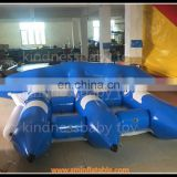 Hot! inflatable water towaable tube, inflatable floating boat, surfing sled for sale