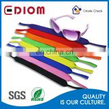 2016 new arrival hot slae elastic sport durable sublimation sunglasses lanyard