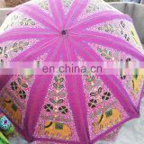 Latest Design 2015 Vintage Sari Material Handmade Indian Garden Parasols